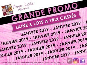 Promotions janvier chez Annnelots