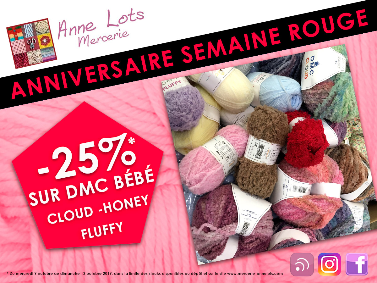 Promotions semaine rouge annelots