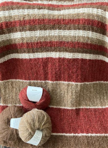 tricot raye