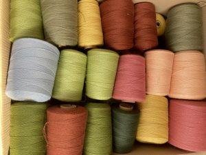arrivage de cônes pure laine